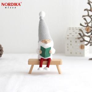 ノルディカニッセ お座りねんねサンタ NORDIKA nisse 2019 クリスマス クリスマス雑貨 木製人形 人形 北欧 北欧雑貨 北欧インテリア NRD120604|favoritestyle