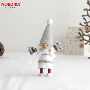 ノルディカニッセ スカーフサンタ サイレントナイトシリーズ NORDIKA nisse 2020 クリスマス 雑貨 木製 北欧 NRD120636|favoritestyle