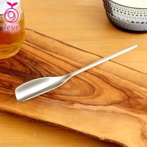 くるりとハチミツスプーン 蜂蜜スプーン はちみつ すくう ステンレス製 オークス レイエ 日本製 AUX leye|favoritestyle
