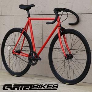 ピストバイク 完成車 CARTEL BIKES AVENUE FLAMINGO PISTBIKE カーテルバイク アベニュー フラミンゴ 自転車 ロードバイク ブランド|favus