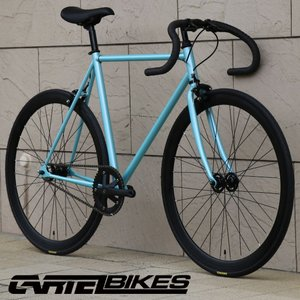 ピストバイク 完成車 CARTEL BIKES AVENUE LIGHT BLUE PISTBIKE カーテルバイク アベニュー ライト ブルー 自転車 ロードバイク ブランド|favus
