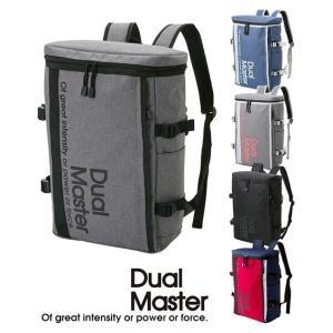 デュアルマスター(Dual Master) スクエアリュック(A4対応) バック 鞄 ニッセン|faz-store