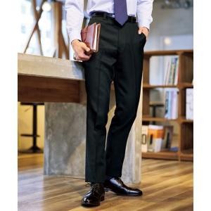 まとめ買いでお買い得!ウォッシャブルノータックスラックス3本組 メンズ 79-94サイズ お家で洗えるので経済的! スーツ スラックス ニッセン 送料無料 faz-store