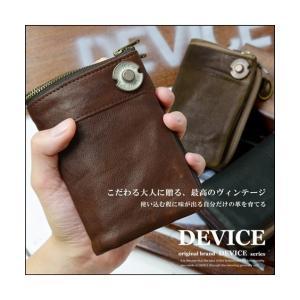 DEVICE(デバイス) ヴィンテージ 二つ折り 財布 【DKW17058】 送料無料|faz-store