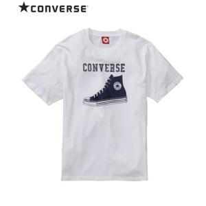 コンバース(CONVERSE) シューズプリント半袖Tシャツ メンズ M/L/LL ALLSTARが...