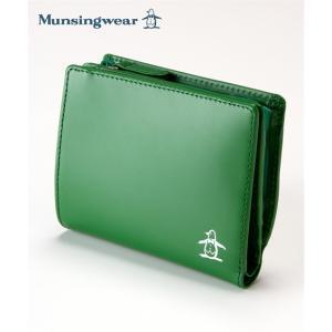 Munsingwear(マンシングウェア)二つ折り財布L字ファスナー小銭入れ付き ニッセン nissen 送料無料|faz-store
