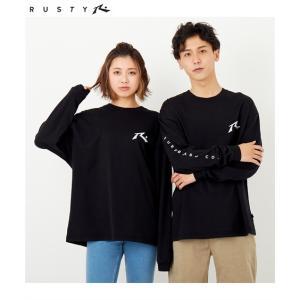 ラスティ オーガニックコットンロングTシャツ(男女兼用) メンズ レディス 3L-5L 大きいサイズ...