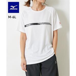 ミズノ 3L-6L 吸汗速乾Tシャツ(男女兼用) K2JA1120 メンズ レディス トップス 半袖...