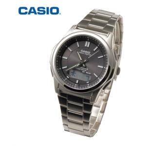 CASIO(カシオ) wave ceptor ソーラー電波ウォッチ ウェーブ セプター 腕時計 時計 ニッセン 送料無料|faz-store