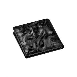 CROIX ROYAL リザード(トカゲ) 二つ折り財布 【CRLSM-012】 ニッセン nissen 送料無料|faz-store
