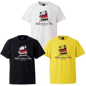 ◆商品説明◆ 人気イラストレーターJERRY氏とのコラボ商品 Manneken pis 半袖Tシャツ...
