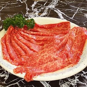 プレゼント ギフト 国産 黒毛和牛 しゃぶしゃぶ すき焼き もも肉 (300g)|fbcreate
