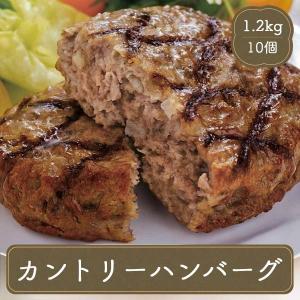 ハンバーグ カントリーハンバーグ(120g×10個) 冷凍食品 お弁当 弁当 食品 食材 おかず 惣菜 業務用 家庭用 国産 日東ベスト|fbcreate