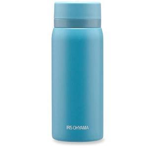 アイリスオーヤマ 水筒 350ml 温度に合わせて選べる飲み口 マグボトル スクリュー 真空断熱 保...