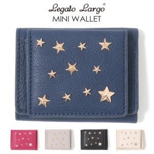 財布 ミニ財布 三つ折り レディース Legato Largo レガートラルゴ 極小財布 ミニウォレット ギフト ポイント消化
