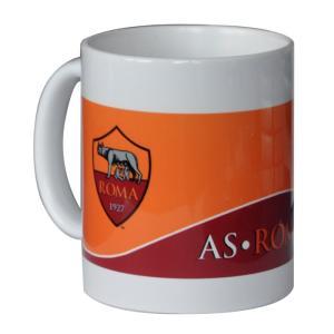 ASローマのオフィシャルマグカップ。  マグカップ以外にも、ペン立てや小物入れとしてもお使い頂けます...