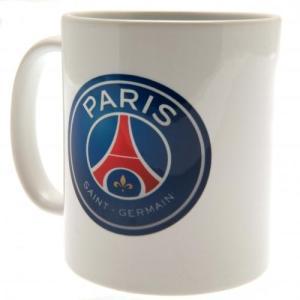 パリ・サンジェルマンのオフィシャルマグカップ。  朝のモーニングコーヒー、お仕事中のブレイクタイムな...