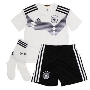 2018W杯ロシア大会で着用!ドイツ代表のミニキット。 大人用と同デザイン、同デザインを採用したシャ...