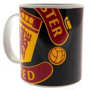 マンチェスターユナイテッドのオフィシャルマグカップ。  朝のモーニングコーヒー、お仕事中のブレイクタ...