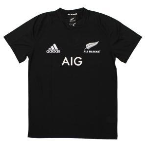 ラグビー ニュージーランド代表「オールブラックス」のユニフォームデザインのコットンTシャツ。  ■商...