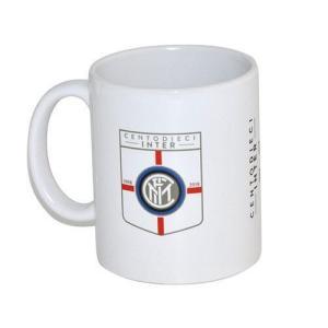 インテルのオフィシャルマグカップ。 クラブ創設110周年記念デザイン。  マグカップ以外にも、ペン立...