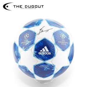 (予約:1週間待ち)メッシ 直筆サイン入り チャンピオンズリーグ 18-19 サッカーボール(THE DUGOUT)(TDMF18191)