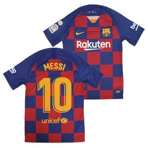 FCバルセロナ2019-20シーズン ホームユニフォーム。 クラブ史上初となるチェック柄を採用したモ...