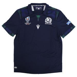 ラグビーワールドカップ2019日本大会で着用!ラグビースコットランド代表レプリカ ジャージ。  ■商...