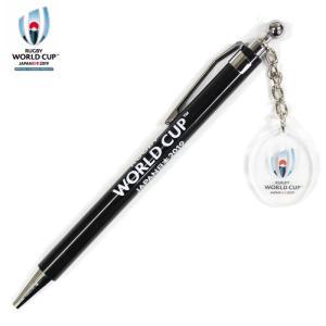 ラグビーワールドカップ2019(TM) 日本大会のオフィシャルグッズ。 大会ロゴのチャーム付きシャー...