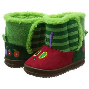 はらぺこあおむし ブーツ HA01352 グリーン 16cm(16 cm) 2E