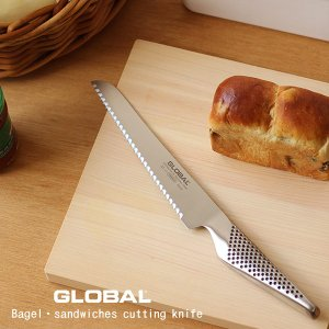 GLOBAL GS-61 ベーグル・サンドイッチナイフ 16cm(GLOBAL グローバル 包丁 YOSHIKIN 吉田金属株式会社 山田耕民 パン切り)|fci