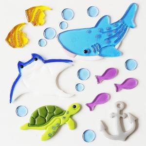 グミデコ バッグS ウミノトモダチ(ウミガメ 海 さかな サメ) fci