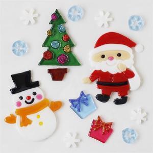 グミデコ バッグS ハッピーXマス(クリスマス サンタクロース ツリー 雪だるま スノーフレーク ジェルジェム)|fci