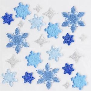 グミデコ バッグS BLスノーフレーク(雪 冬 結晶 クリスマス ジェルジェム)|fci