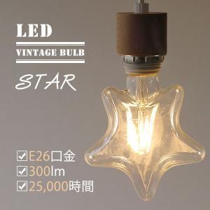 LED BULB STAR(BRID VINTEAGE スタータイプ E26口金 300ルーメン 電球色 全方向タイプ)|fci