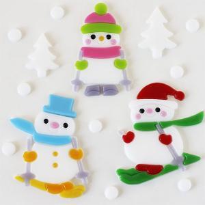 グミデコ バッグS トリオスキー(クリスマス 雪だるま スノーマン)|fci