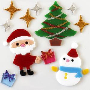 グミデコ バッグS ハッピータイム(クリスマスツリー サンタクロース トナカイ ジェルジェム)|fci