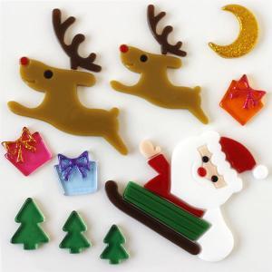 グミデコ バッグS ソリサンタ(クリスマスツリー サンタクロース ジェルジェム)|fci