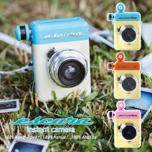 Escura instant camera(レトロ インスタントカメラ アナログ 電源不要 お出かけ)|fci