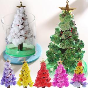 マジックウォーターをセットすれば葉っぱがもこもこ育ちクリスマスツリーのできあがり♪クリスマスのディス...