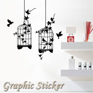 グラフィックステッカーmini(ウォールステッカー インテリアステッカー 壁紙)|fci