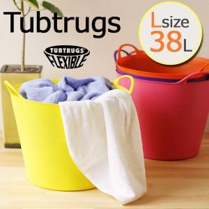 レッドゴリラ 旧TUBTRUGS タブトラッグス Lサイズ 38L/マイクロタブプレゼント(バスケット 収納かご カゴ バケツ)の写真