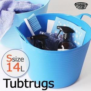 TUBTRUGS タブトラッグス Sサイズ 14L/マイクロタブプレゼント(レッドゴリラ バスケット 収納かご カゴ バケツ スタッキング)の写真