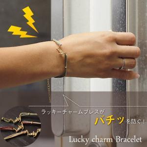 ELEBLO ラッキーチャームブレス(静電気防止 ブレスレット 放電)|fci