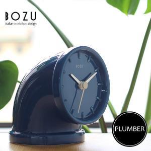 BOZU PLUMBER プラマー(置時計 土管 アナログ)|fci