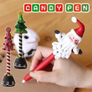 クリスマス キャンディーペン(サンタクロース ツリー) fci