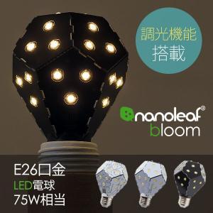 Nanoleaf Bloom・ナノリーフ ブルーム(E26口金 1200ルーメン 75W相当 温白色 全方向タイプ)|fci