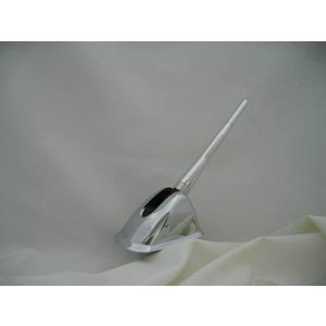 QNC系bB(ビービー) 可動、ユーロアンテナ カラー/シルバー+アンテナカバー/メッキ fdc-uz