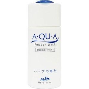 【送料無料】【カレン】 A・QU・A (アクア) 酵素洗顔 パウダー ハーブの恵み 60g 【パウダーウォッシュ(ハーブミント)】|fdc
