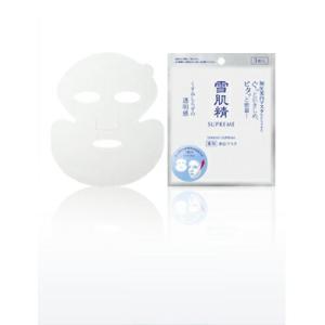 【6枚セット!!】 雪肌精 シュープレム ホワイトリフトマスク(医薬部外品)【15mL×6枚】|fdc